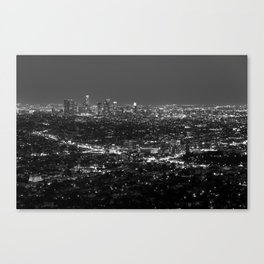 LA Lights No. 2 Canvas Print