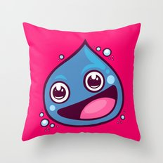 Dragon Slime Throw Pillow