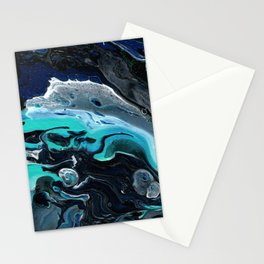 Ocean Poured Stationery Cards