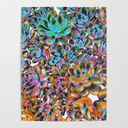Floral tribute [galaxy] Poster