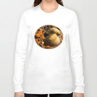 shells Long Sleeve T-shirts featuring Shells by Wealie