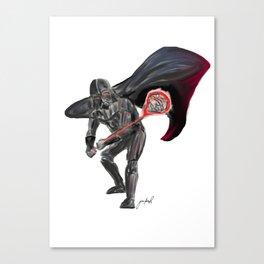 Lax Vader Canvas Print