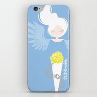 depression iPhone & iPod Skins featuring Endometriosis & Depression by OhhhKaye