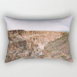 Rio Grande Gorge Rectangular Pillow
