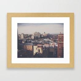North Chicago Framed Art Print