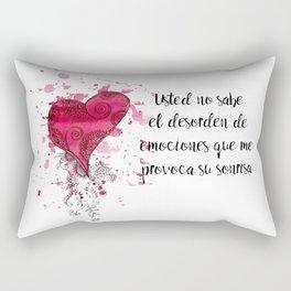 Your smile provokes Rectangular Pillow