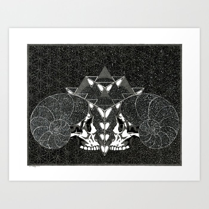 We Are Cosmos Art Print