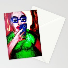 While The Sky Is Falling. Stationery Cards
