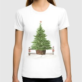 Christmas In The Country T-shirt