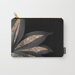 Agave Finesse Glitter Glam #8 #tropical #decor #art #society6 Carry-All Pouch