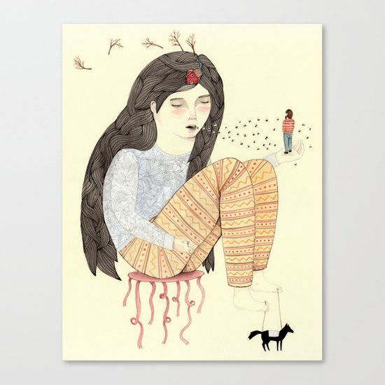 Manifest Canvas Print