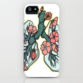 suffocating in bloom iPhone Case