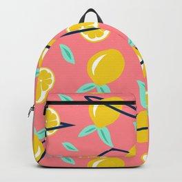 Lemons party #society6 #decor #buyart Backpack