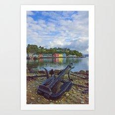 Tobermory 2 Isle of Mull Art Print