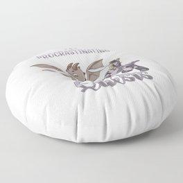 Not Procrastinating I'm Doing Side Quest Dragon Floor Pillow