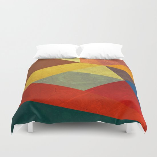 Abstract #294 Duvet Cover