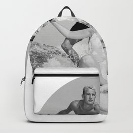 Tandem Couple Surfing Backpack