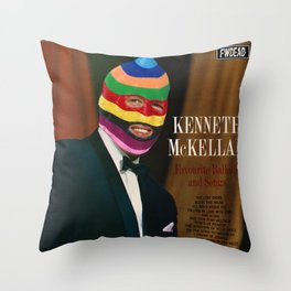Favourite Ballads and Songs Throw Pillow