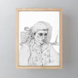 Literature Framed Mini Art Print