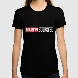 Martin Scorsese Logo Black T-shirt