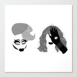 Trixie and Katya Canvas Print