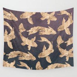 Gold Ocean Wall Tapestry