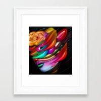 asia Framed Art Prints featuring Asia by Bartosz Piotrowski