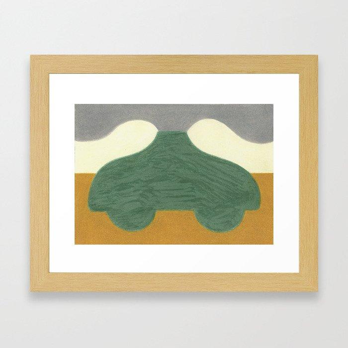 The Onion Soup Car Framed Art Print