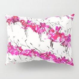 The Pink Swans Pillow Sham