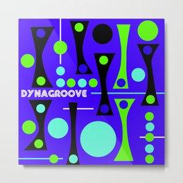 dynagrooved Metal Print