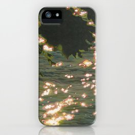 Sunny Afternoon, Lake Huron iPhone Case