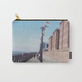 Bunting on the dock Carry-All Pouch
