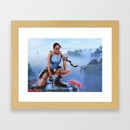 Aha! Framed Art Print