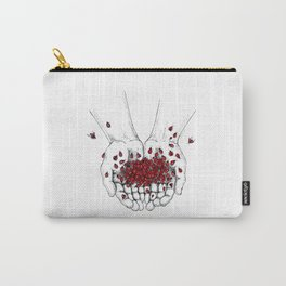 Palms full of ladybugs Carry-All Pouch