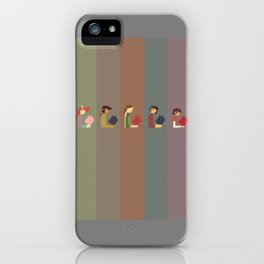 Lumber Ladies Read iPhone Case