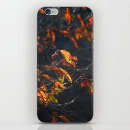 Dead Things Fall iPhone Skin