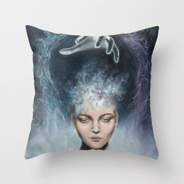 Divine Connection Throw Pillow