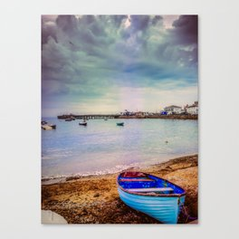 The calm before a storm. Canvas Print