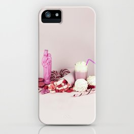 Sweet pink doom - still life iPhone Case
