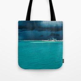 Maldivian storm 2 Tote Bag