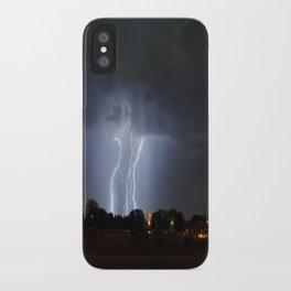 Lightning Triple Play iPhone Case