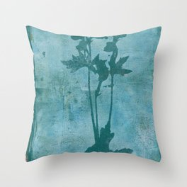Botanica No. 9 Throw Pillow