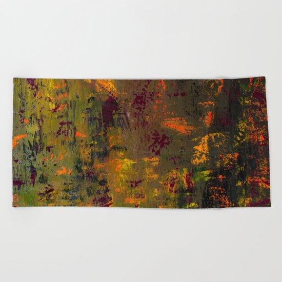 Autumn fantasy Beach Towel