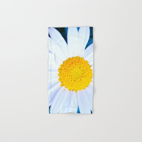 SMILE - Daisy Flower #2 Hand & Bath Towel