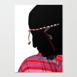 Maasai Man Canvas Print