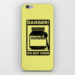 Danger iPhone Skin