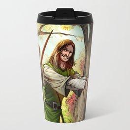 Robin Hood and his Merry Women Travel Mug