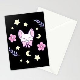 Sakura Cat Stationery Cards