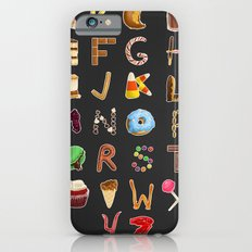 Dessert Alphabet  iPhone 6s Slim Case