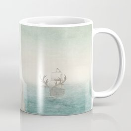 The Day the Antlered Ship Arrived Coffee Mug